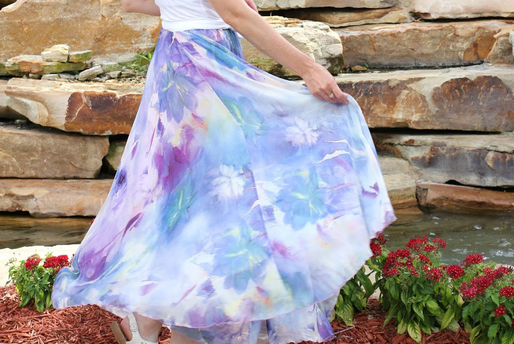 Chicwish Watercolor Maxi