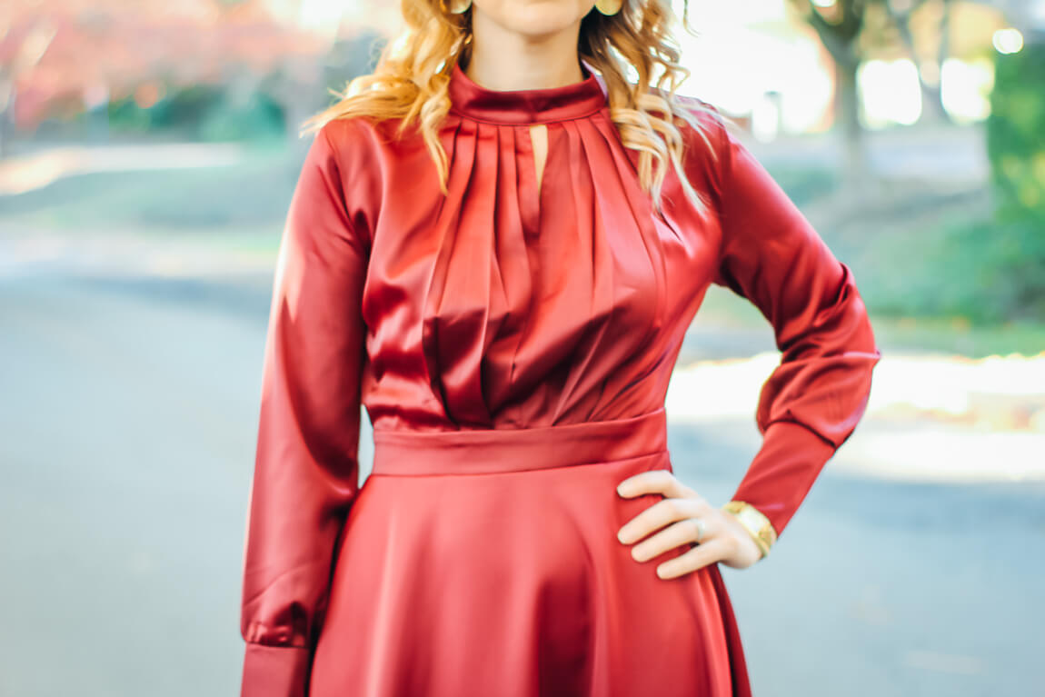 Chicwish Satin Dress
