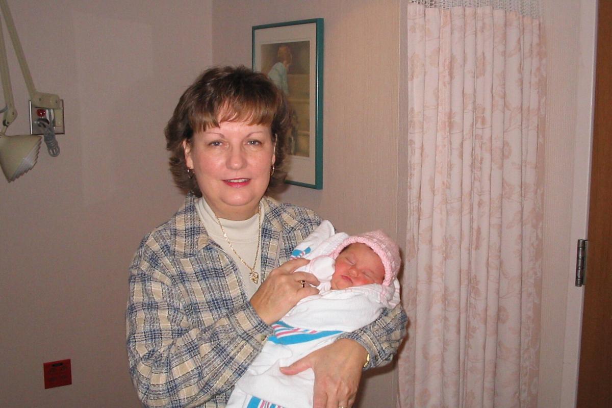 Mama and Hope 11/06/2003