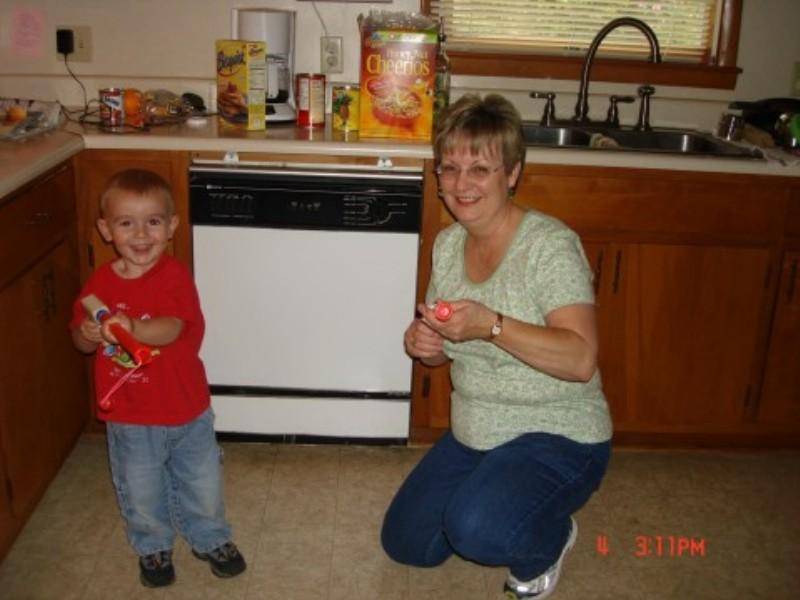 Mama and Lance 2005