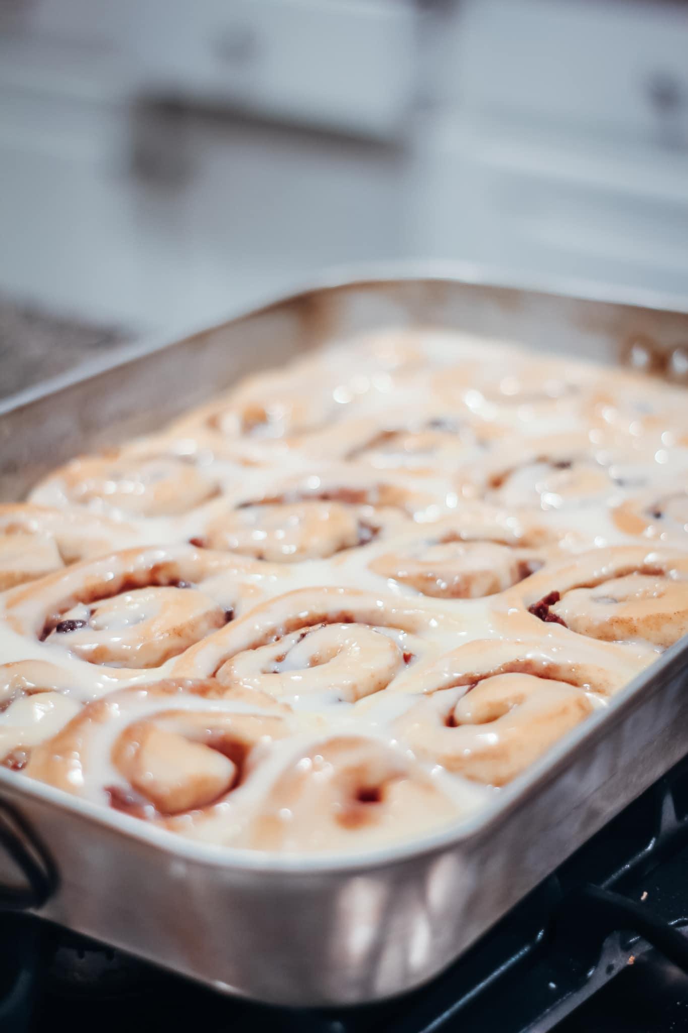 Mama's cinnamon rolls-Laura Mintz Blog-Asheville, NC